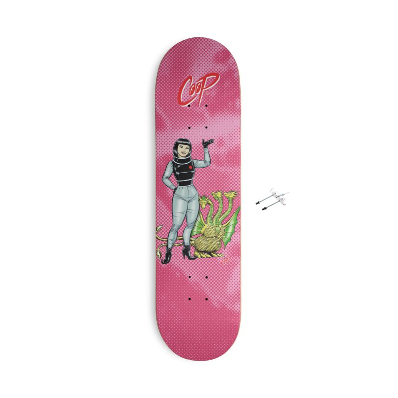 MISS NAMIKAWA Accessories With Hanging Hardware Skateboard by The Art of Coop