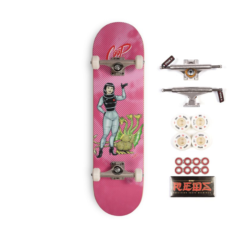 MISS NAMIKAWA Accessories Complete - Pro Skateboard by The Art of Coop