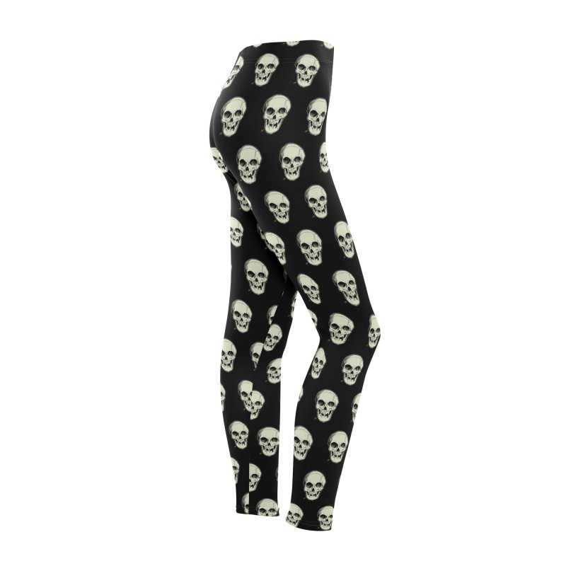 PIRATE SKULL Women's Bottoms by The Art of Coop