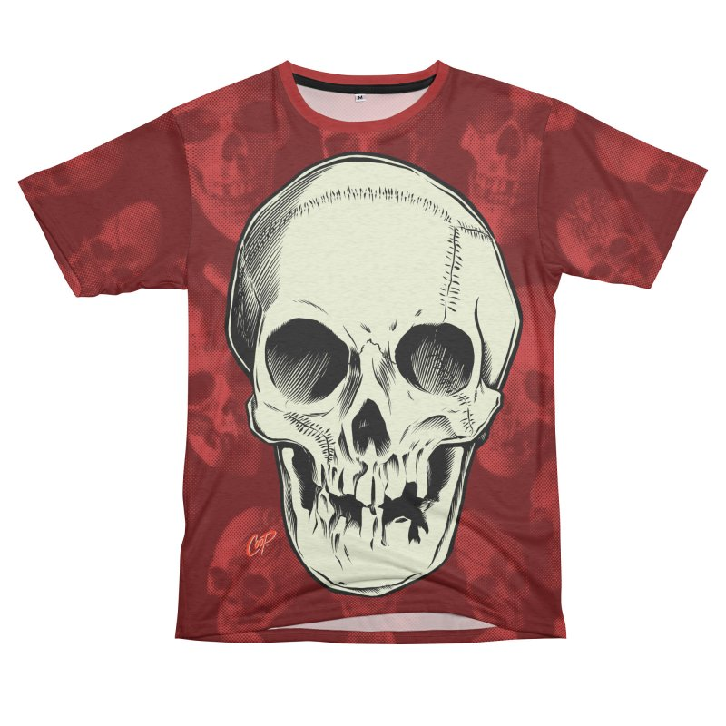 PIRATE SKULL Women's Unisex French Terry T-Shirt Cut & Sew by The Art of Coop