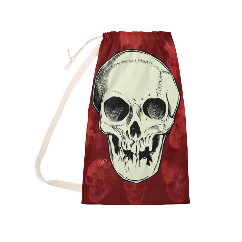 PIRATE SKULL Accessories Laundry Bag Bag by The Art of Coop