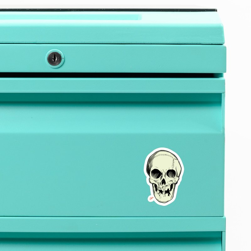 PIRATE SKULL Accessories Magnet by The Art of Coop