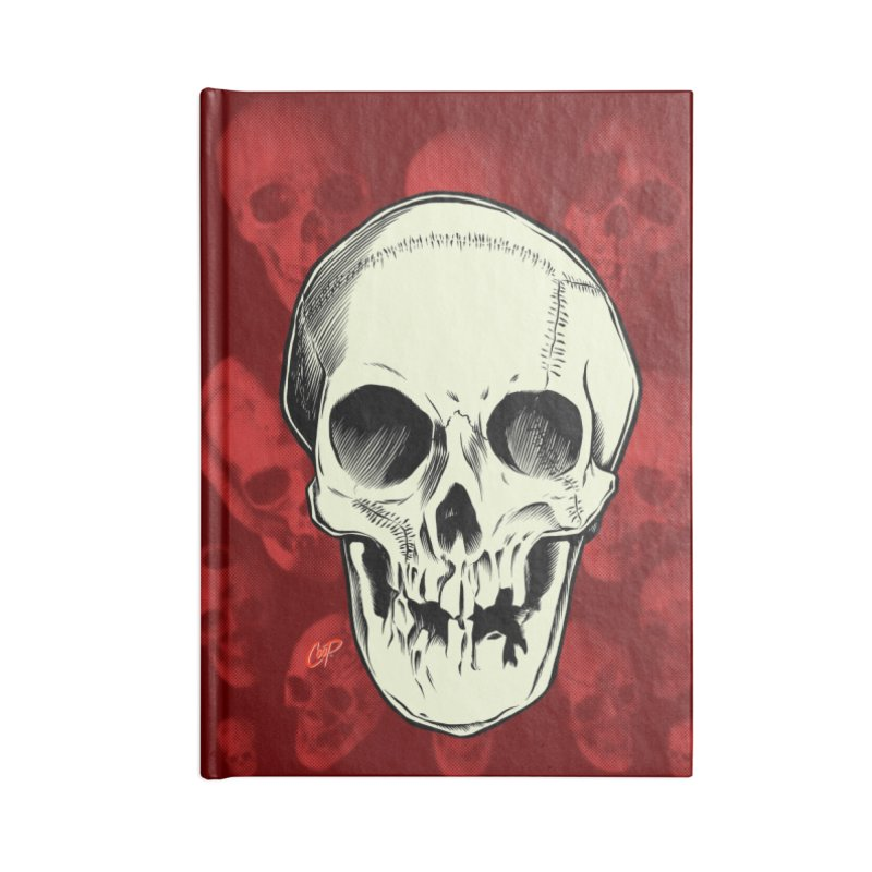 PIRATE SKULL Accessories Blank Journal Notebook by The Art of Coop