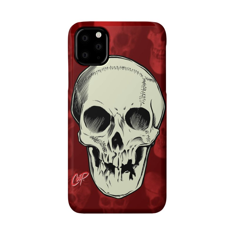 PIRATE SKULL Accessories Phone Case by The Art of Coop