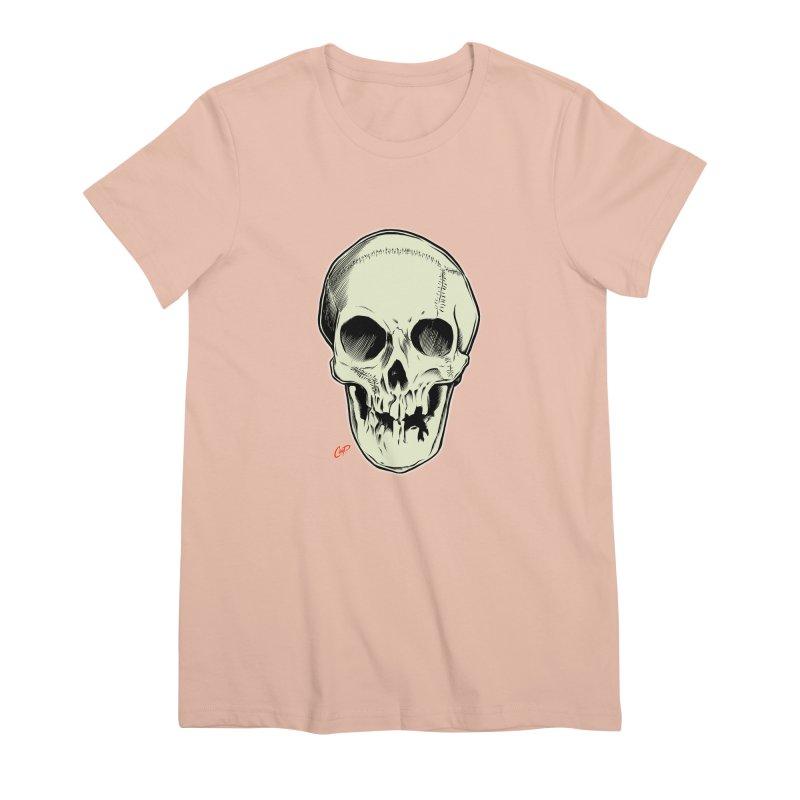 PIRATE SKULL Women's Premium T-Shirt by The Art of Coop