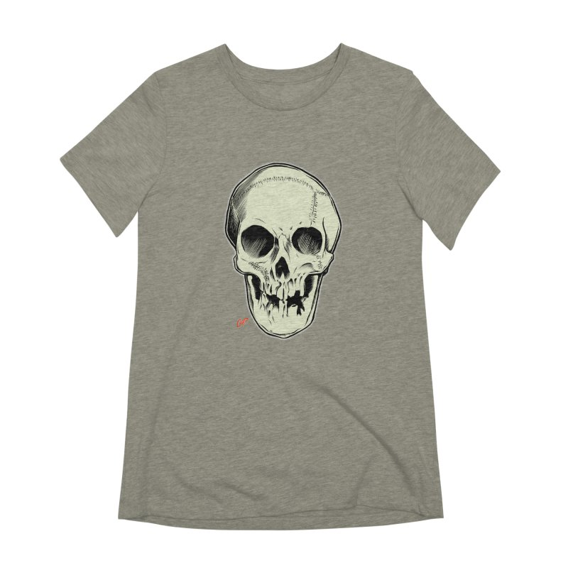 PIRATE SKULL Women's Extra Soft T-Shirt by The Art of Coop