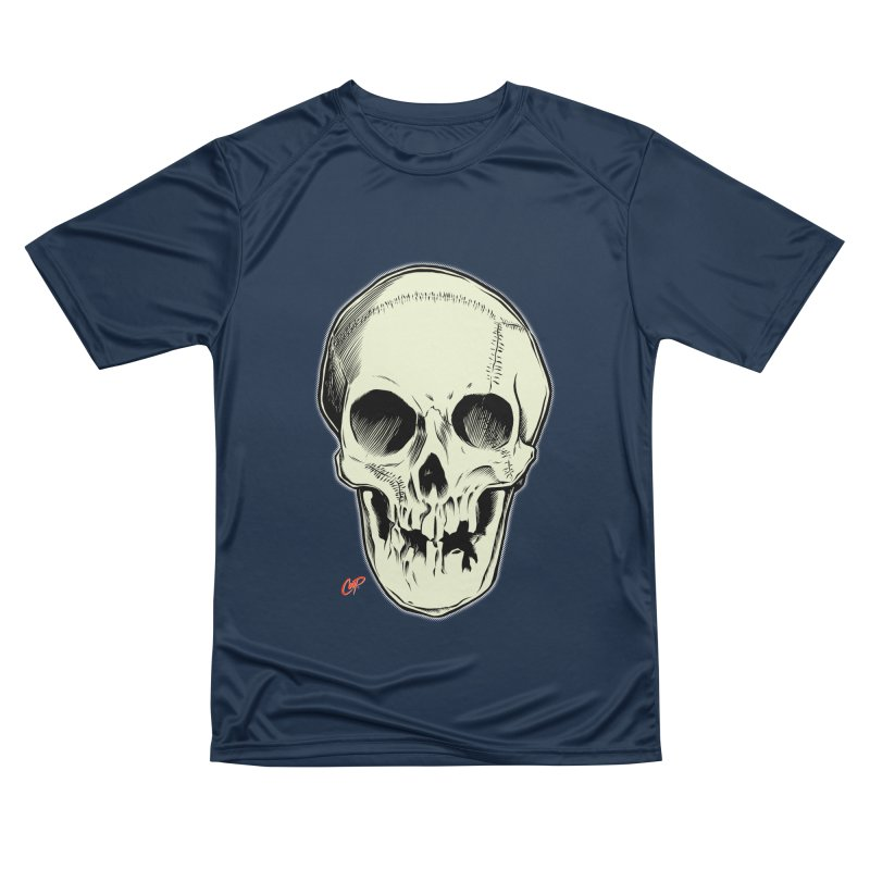 PIRATE SKULL Women's Performance Unisex T-Shirt by The Art of Coop
