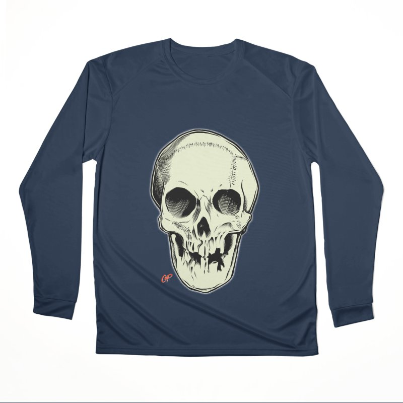 PIRATE SKULL Men's Performance Longsleeve T-Shirt by The Art of Coop