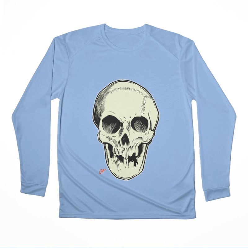 PIRATE SKULL Women's Performance Unisex Longsleeve T-Shirt by The Art of Coop