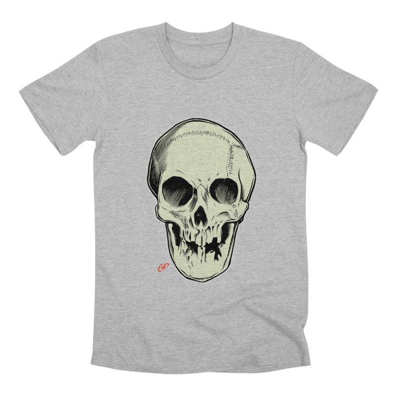PIRATE SKULL Men's Premium T-Shirt by The Art of Coop
