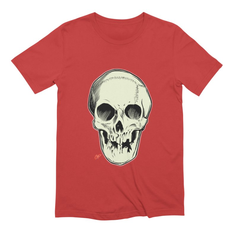 PIRATE SKULL Men's Extra Soft T-Shirt by The Art of Coop