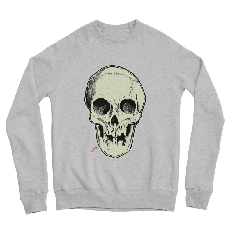 PIRATE SKULL Women's Sponge Fleece Sweatshirt by The Art of Coop