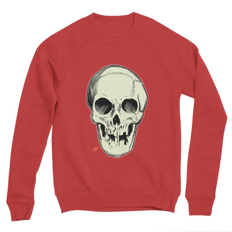 PIRATE SKULL Men's Sponge Fleece Sweatshirt by The Art of Coop