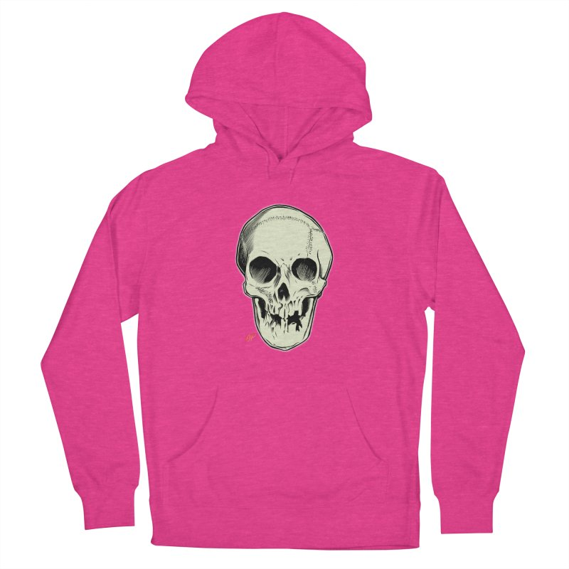 PIRATE SKULL Men's French Terry Pullover Hoody by The Art of Coop