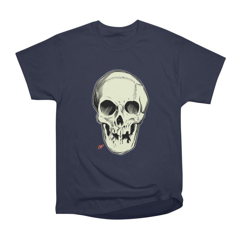 PIRATE SKULL Women's Heavyweight Unisex T-Shirt by The Art of Coop