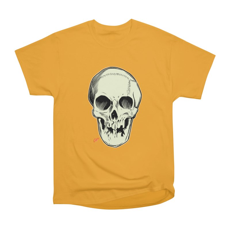 PIRATE SKULL Men's Heavyweight T-Shirt by The Art of Coop