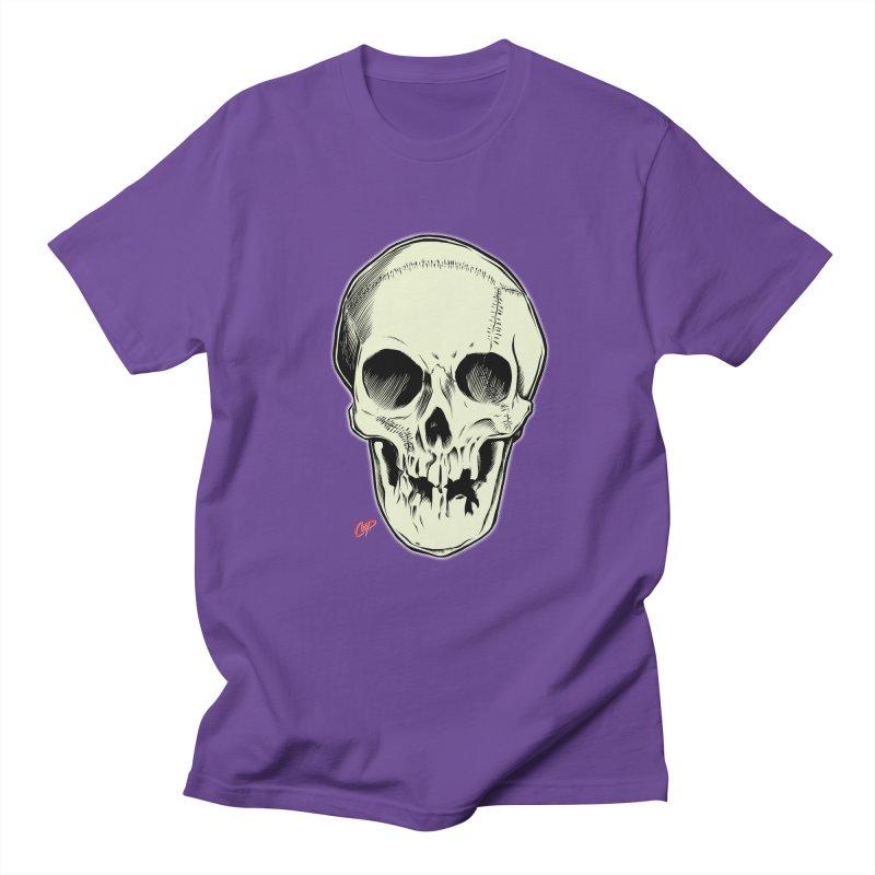 PIRATE SKULL Women's Regular Unisex T-Shirt by The Art of Coop