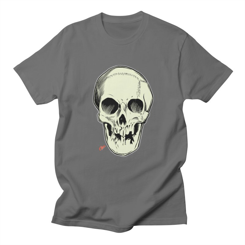 PIRATE SKULL Men's T-Shirt by The Art of Coop