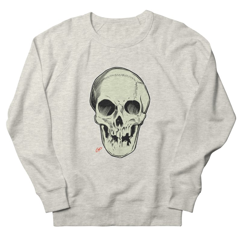 PIRATE SKULL Women's French Terry Sweatshirt by The Art of Coop