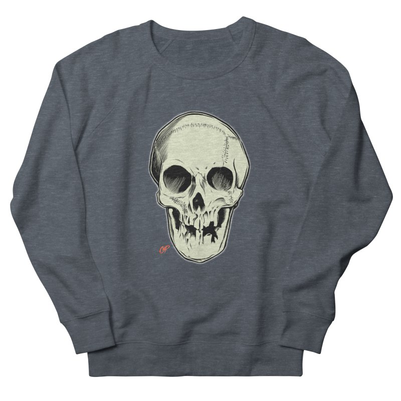 PIRATE SKULL Men's French Terry Sweatshirt by The Art of Coop