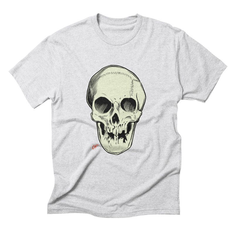PIRATE SKULL Men's Triblend T-Shirt by The Art of Coop