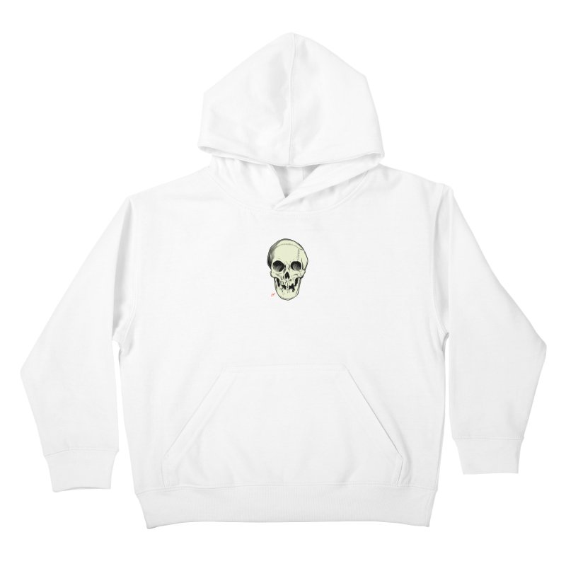 PIRATE SKULL Kids Pullover Hoody by The Art of Coop