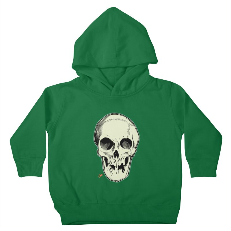 PIRATE SKULL Kids Toddler Pullover Hoody by The Art of Coop