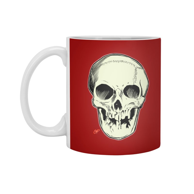 PIRATE SKULL Accessories Standard Mug by The Art of Coop