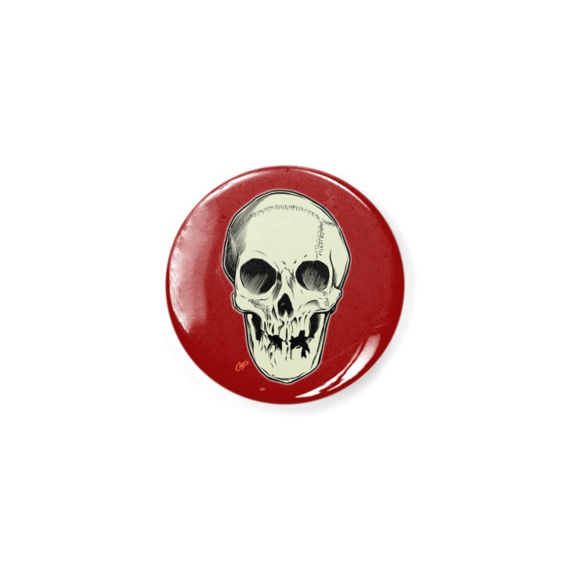 PIRATE SKULL Accessories Button by The Art of Coop