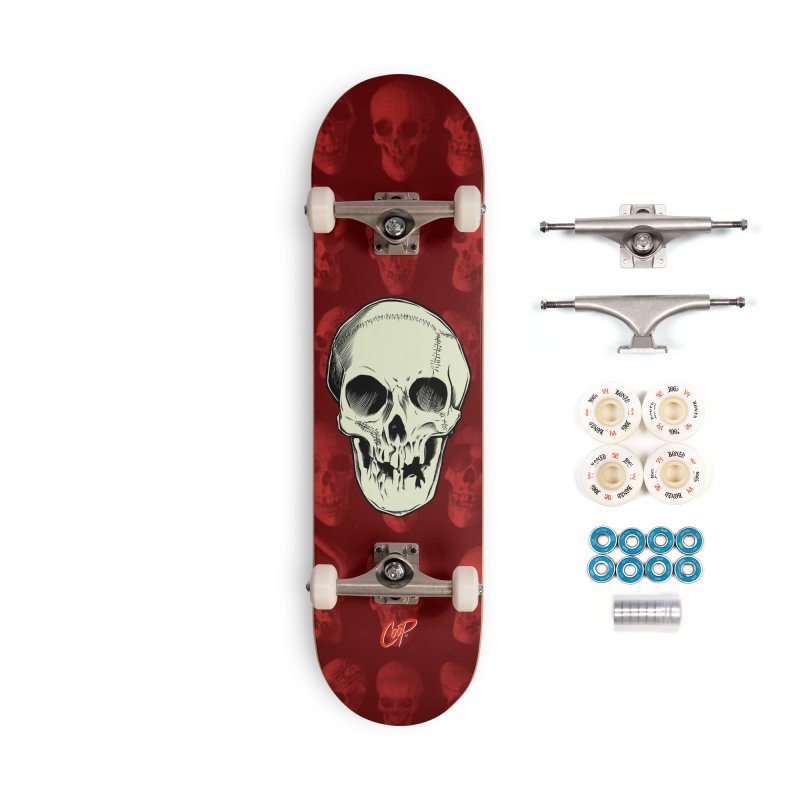 PIRATE SKULL Accessories Complete - Premium Skateboard by The Art of Coop