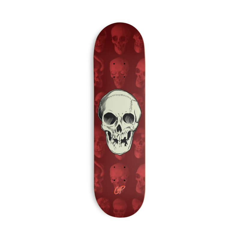 PIRATE SKULL Accessories Deck Only Skateboard by The Art of Coop