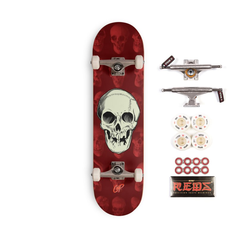 PIRATE SKULL Accessories Complete - Pro Skateboard by The Art of Coop