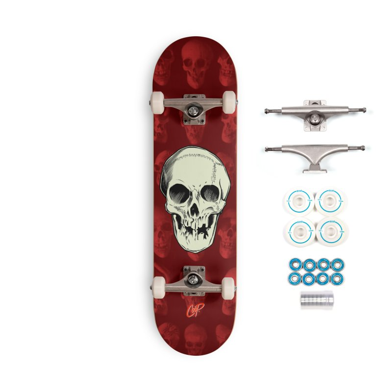 PIRATE SKULL Accessories Complete - Basic Skateboard by The Art of Coop
