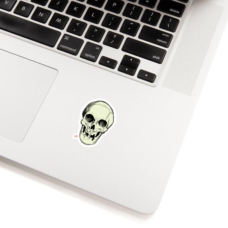 PIRATE SKULL Accessories Sticker by The Art of Coop