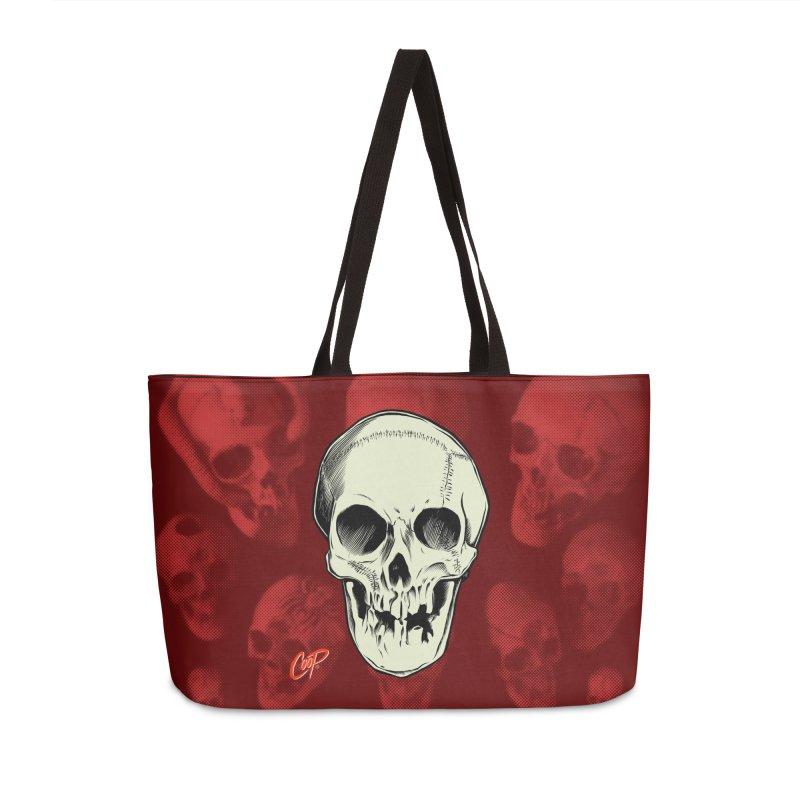 PIRATE SKULL Accessories Weekender Bag Bag by The Art of Coop