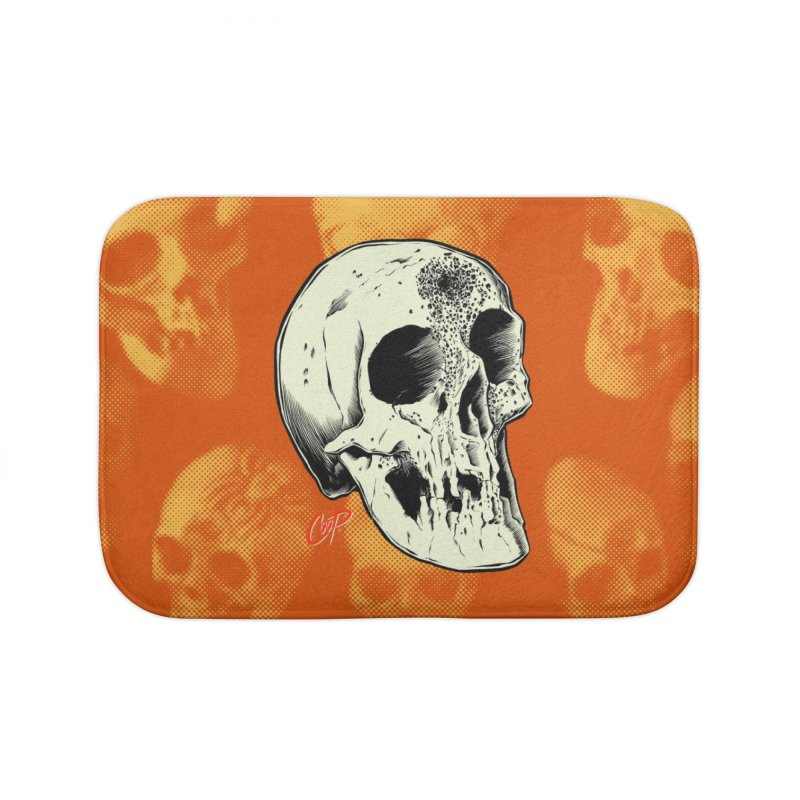 Voodoo Skull Home Bath Mat by The Art of Coop