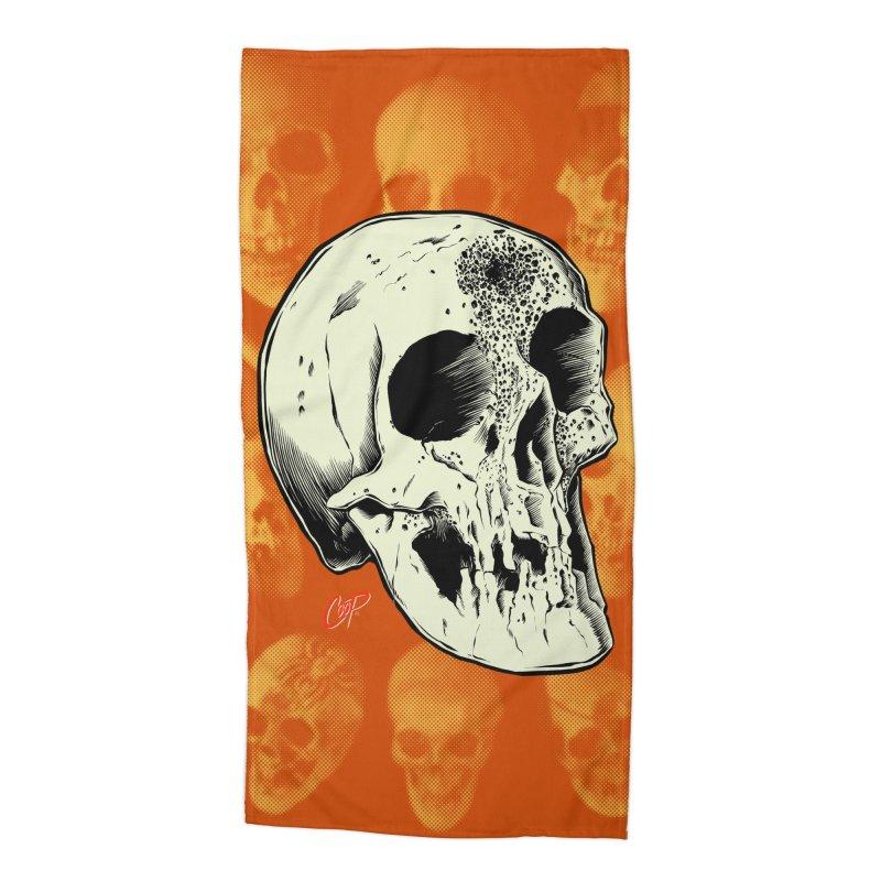 Voodoo Skull Accessories Beach Towel by The Art of Coop
