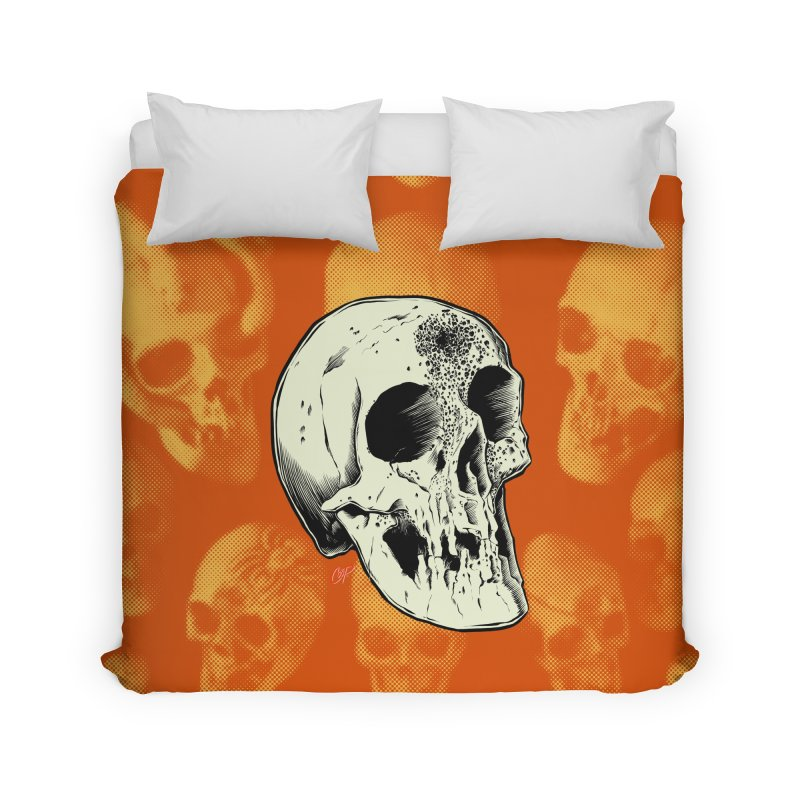 Voodoo Skull Home Duvet by The Art of Coop