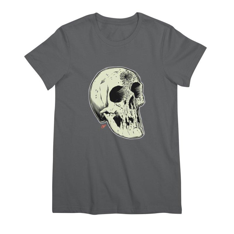 Voodoo Skull Women's Premium T-Shirt by The Art of Coop