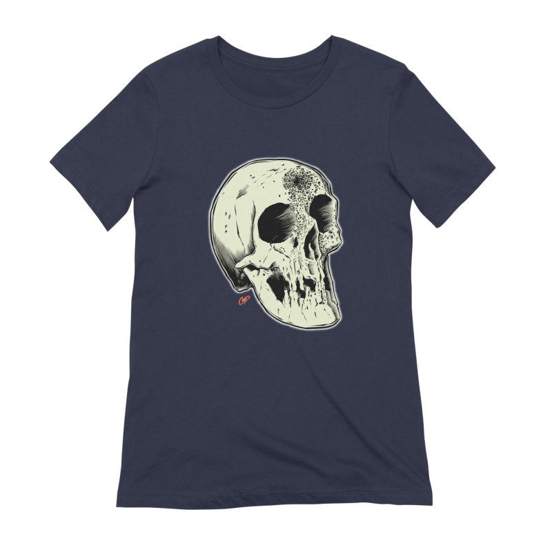 Voodoo Skull Women's Extra Soft T-Shirt by The Art of Coop