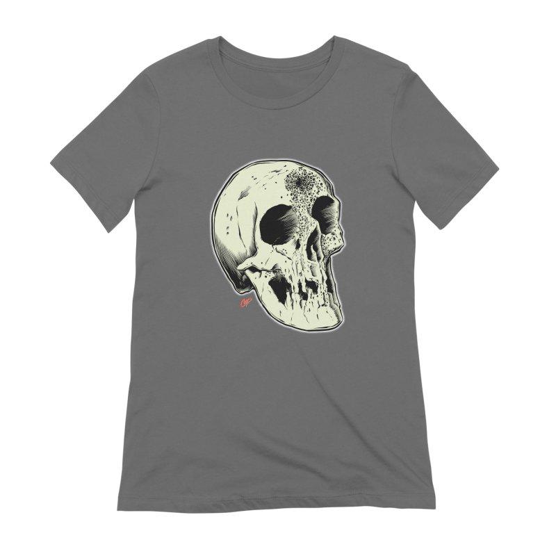 Voodoo Skull Women's T-Shirt by The Art of Coop