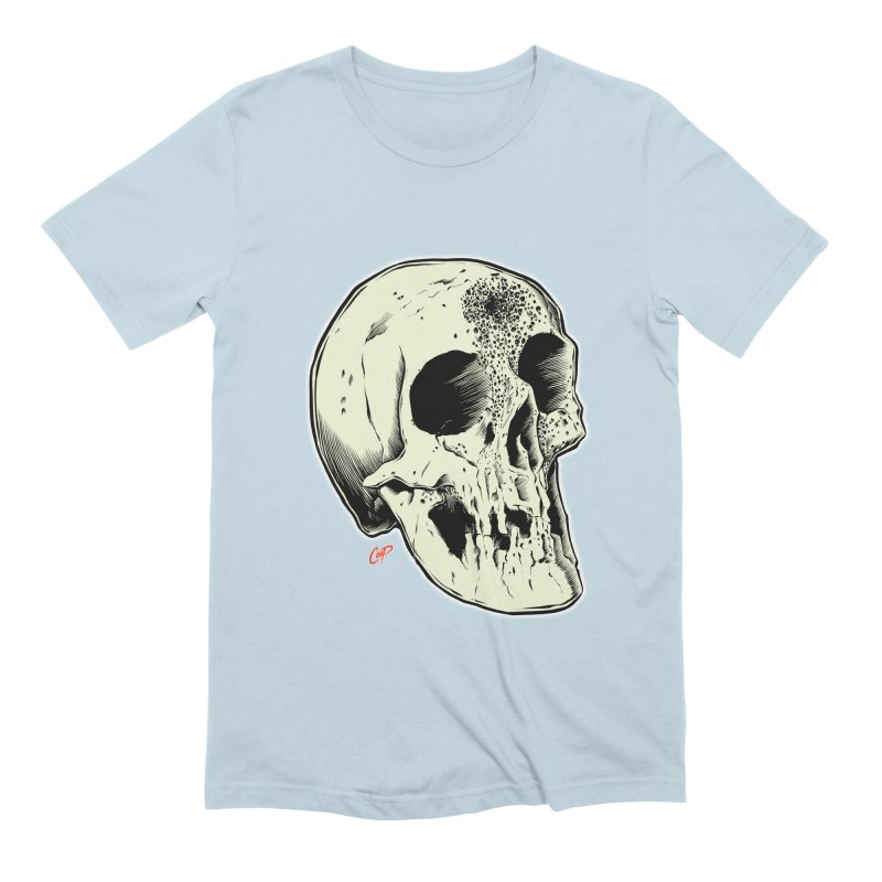 Voodoo Skull Men's Extra Soft T-Shirt by The Art of Coop