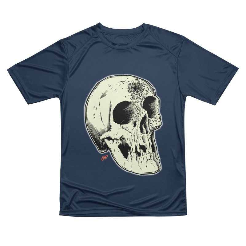 Voodoo Skull Women's Performance Unisex T-Shirt by The Art of Coop