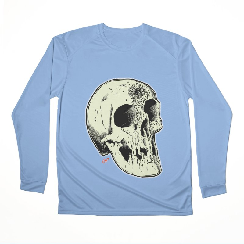 Voodoo Skull Men's Longsleeve T-Shirt by The Art of Coop