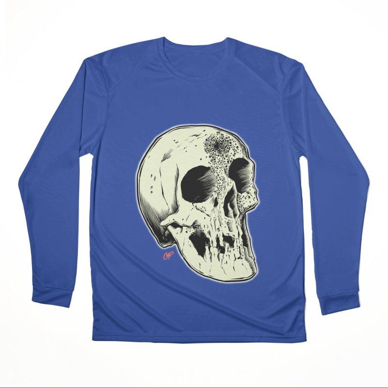 Voodoo Skull Women's Performance Unisex Longsleeve T-Shirt by The Art of Coop