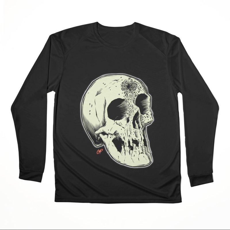Voodoo Skull Men's Performance Longsleeve T-Shirt by The Art of Coop