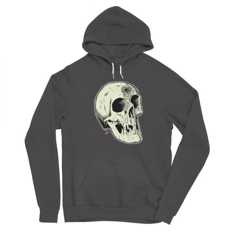 Voodoo Skull Men's Sponge Fleece Pullover Hoody by The Art of Coop