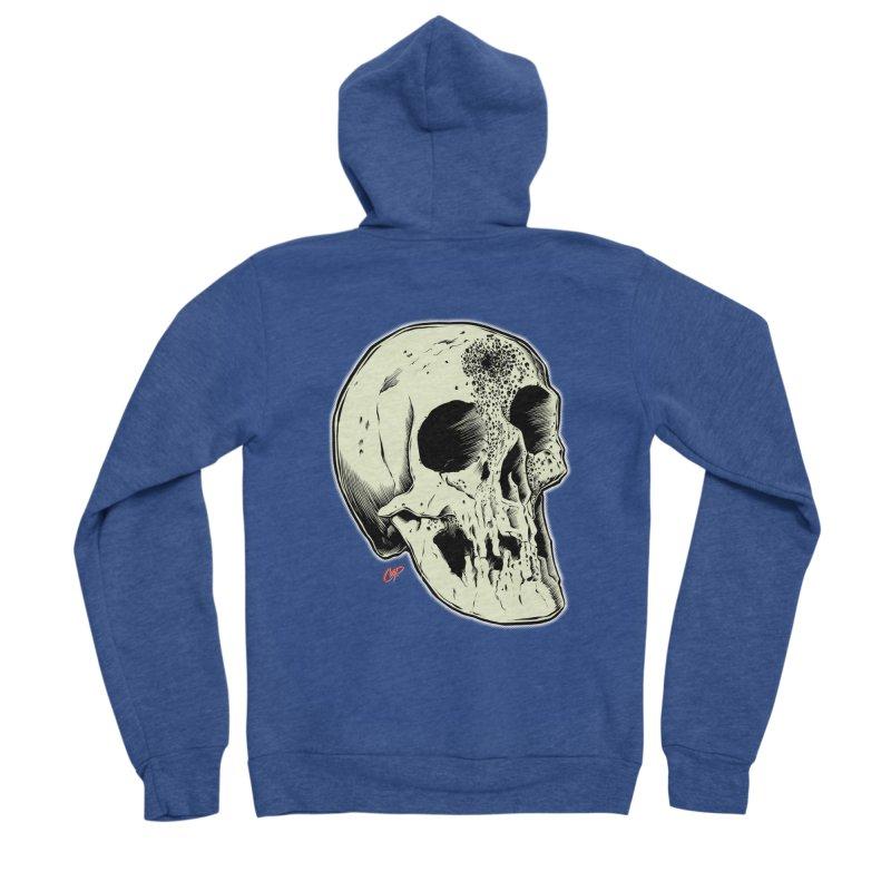 Voodoo Skull Men's Sponge Fleece Zip-Up Hoody by The Art of Coop