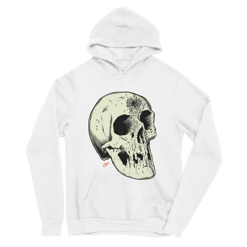 Voodoo Skull Men's Sponge Fleece Pullover Hoody by The Art of Coop