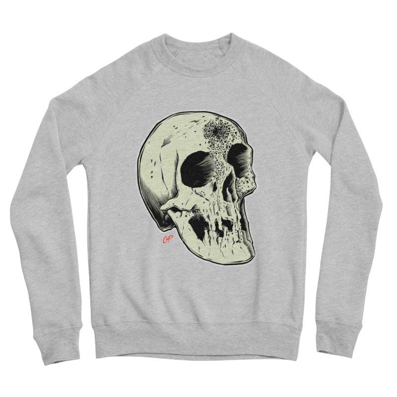 Voodoo Skull Men's Sponge Fleece Sweatshirt by The Art of Coop